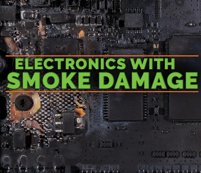 Why SERVPRO Protect Your Investment by Cleaning Electronics After a Fire